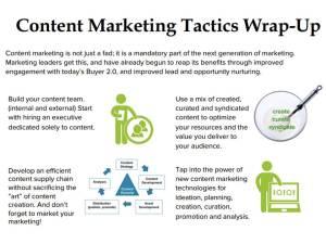 content tactics wrap up