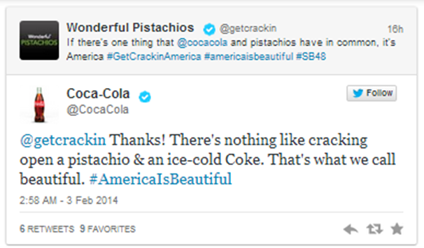 wonderful pistachios twitt jc penney